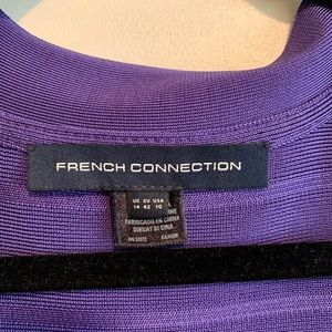 French Connection purple cocktail dress